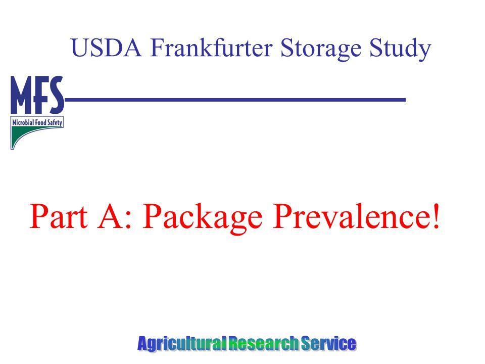 USDA Frankfurter Storage Study Part A: Package Prevalence!
