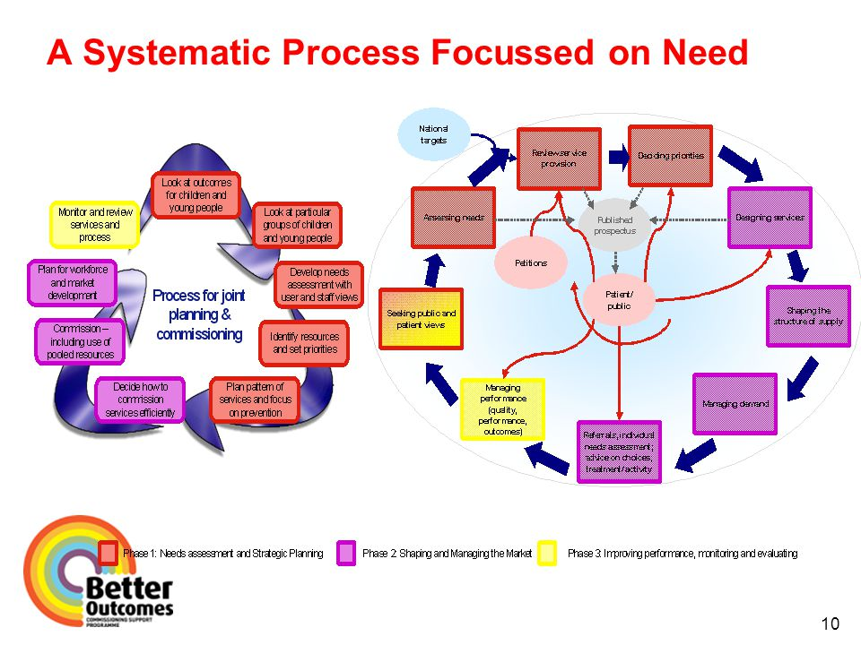 A Systematic Process Focussed on Need 10