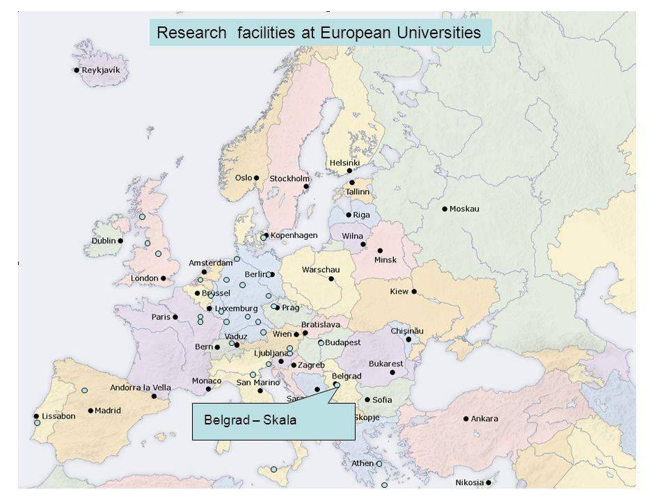 Trieste - Alessi Research facilities at European Universities