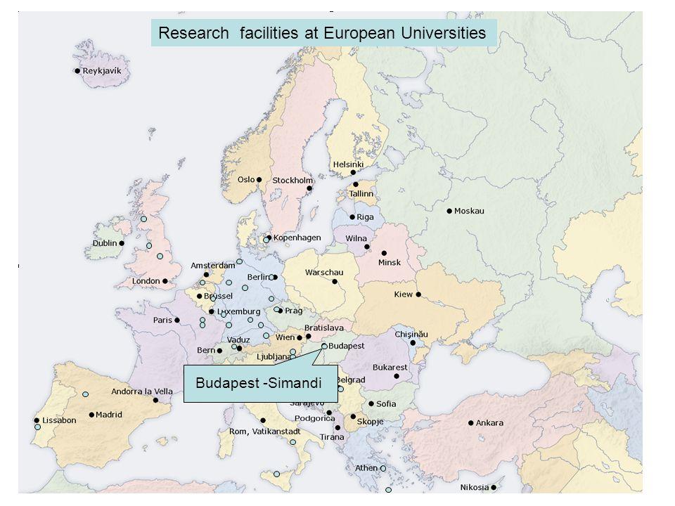 Liverpool - Cooper Research facilities at European Universities