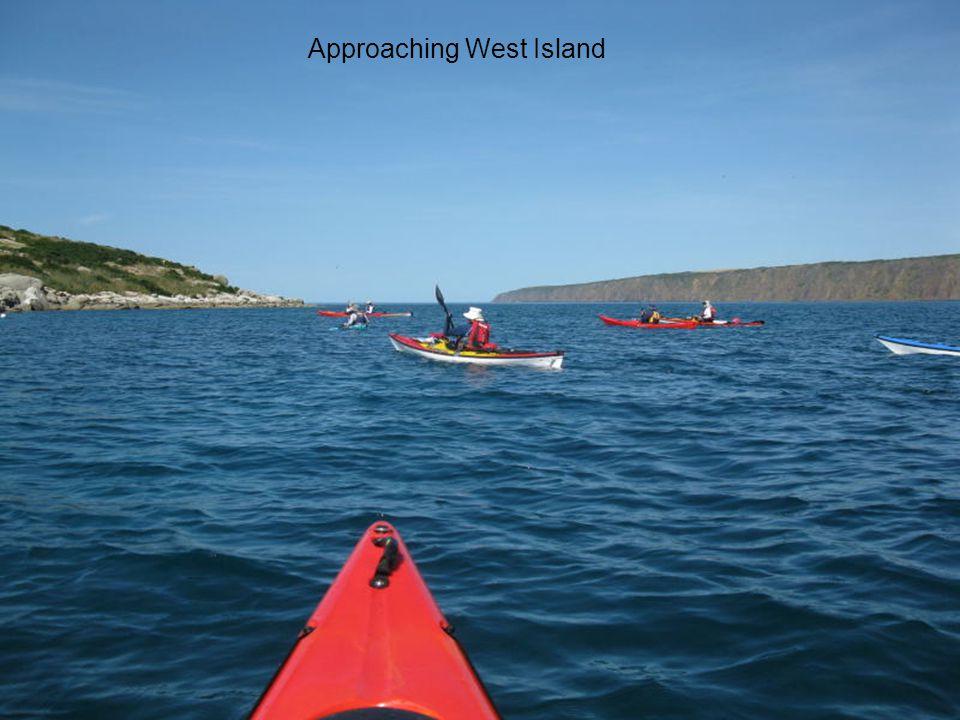 Approaching West Island