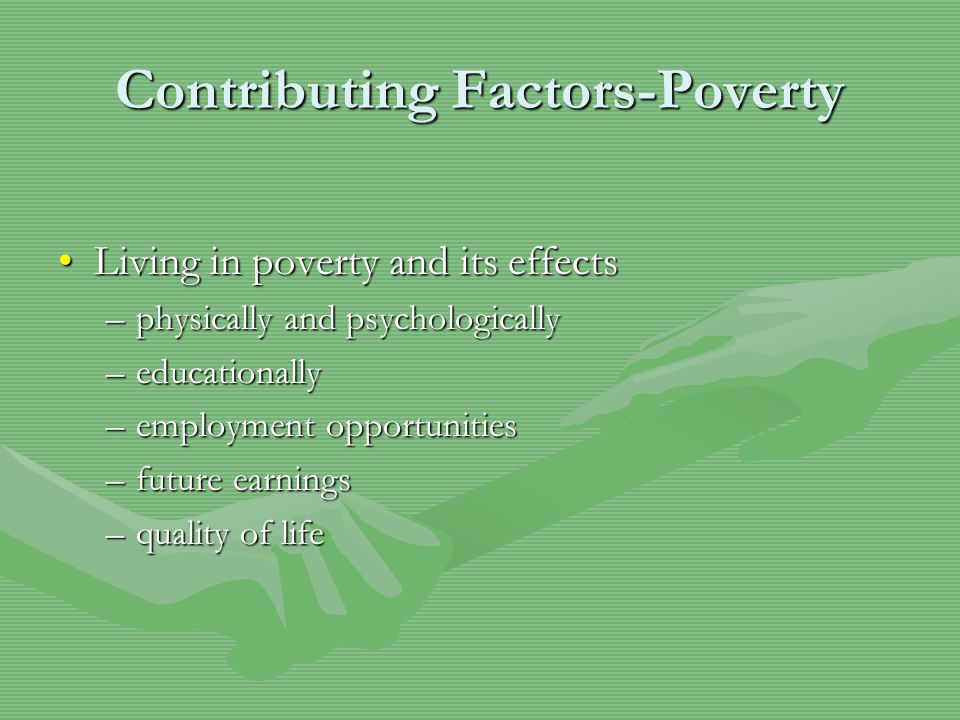 Contributing Factors- Home/Family Familial stressorsFamilial stressors -all members of the family experience new stressors that make daily tasks very challenging