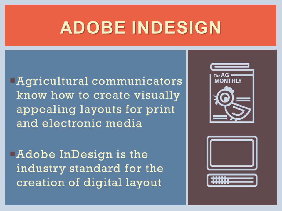 CREATING A DOCUMENT Open Adobe InDesign.Choose Create New>Document.