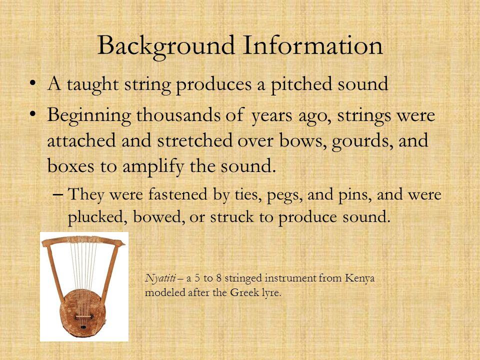 Egyptian stringed harps