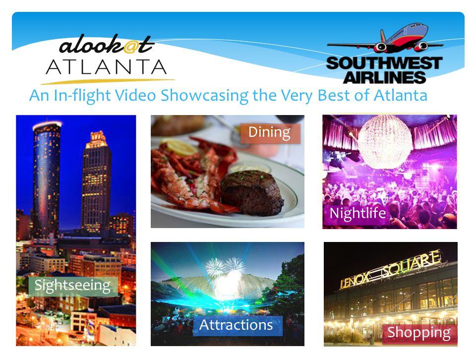 Atlanta's Thriving Visitor Market.Travel figures from the Atlanta C.V.B.