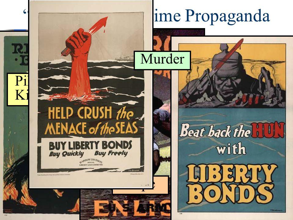 """""""Emotional"""" Wartime Propaganda Pillaging & Kidnapping Rape Murder"""