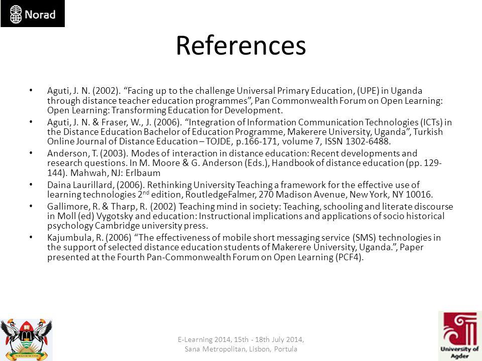 References Aguti, J. N. (2002).