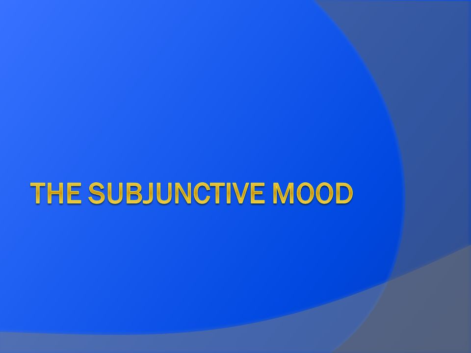 What is the difference between Mood and Tense.Keep in mind that all verbs have tense and mood.