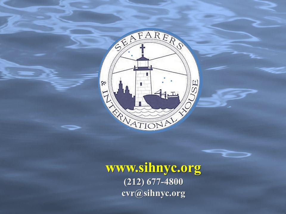 www.sihnyc.org (212) 677-4800 cvr@sihnyc.org