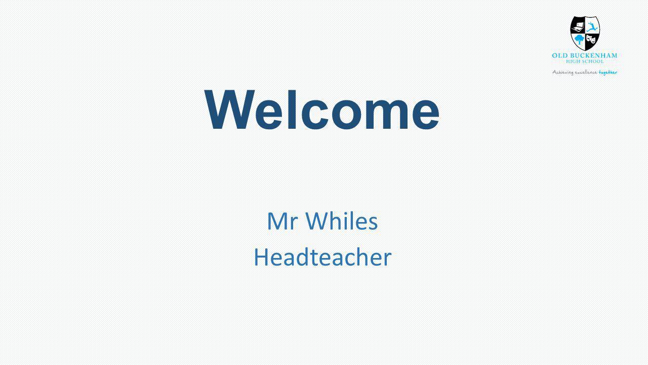 The year ahead Mr Hilton Director of Raising Achievement