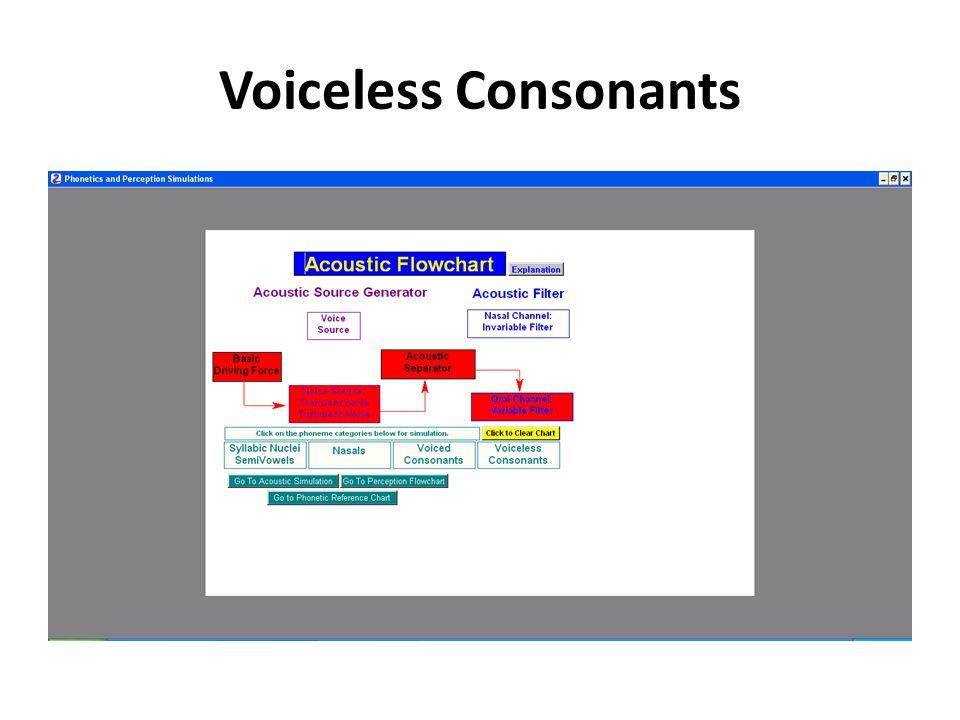 Voiced Consonants
