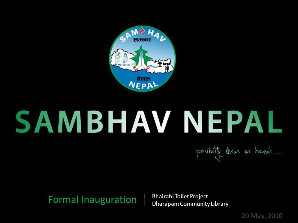 Sambhav Nepal's Chairman Mr.Prem K. Khatry and NTV's reporter Mr.