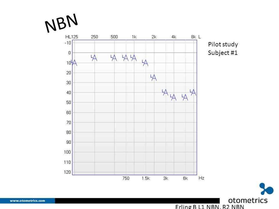 Erling B L1 NBN, R2 NBN NBN Pilot study Subject #1
