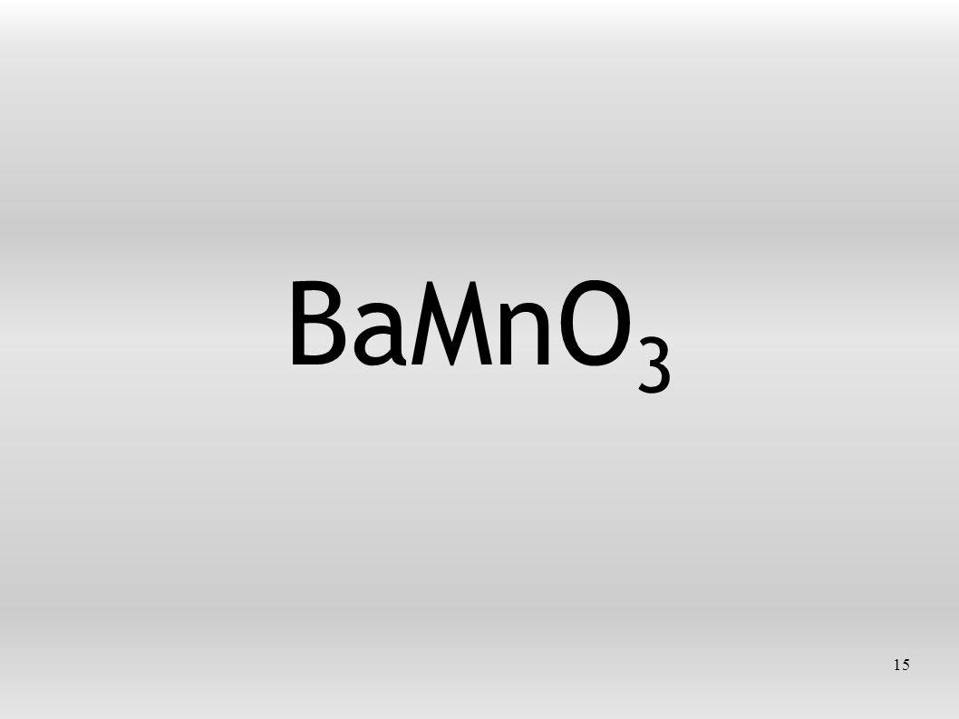 15 BaMnO 3