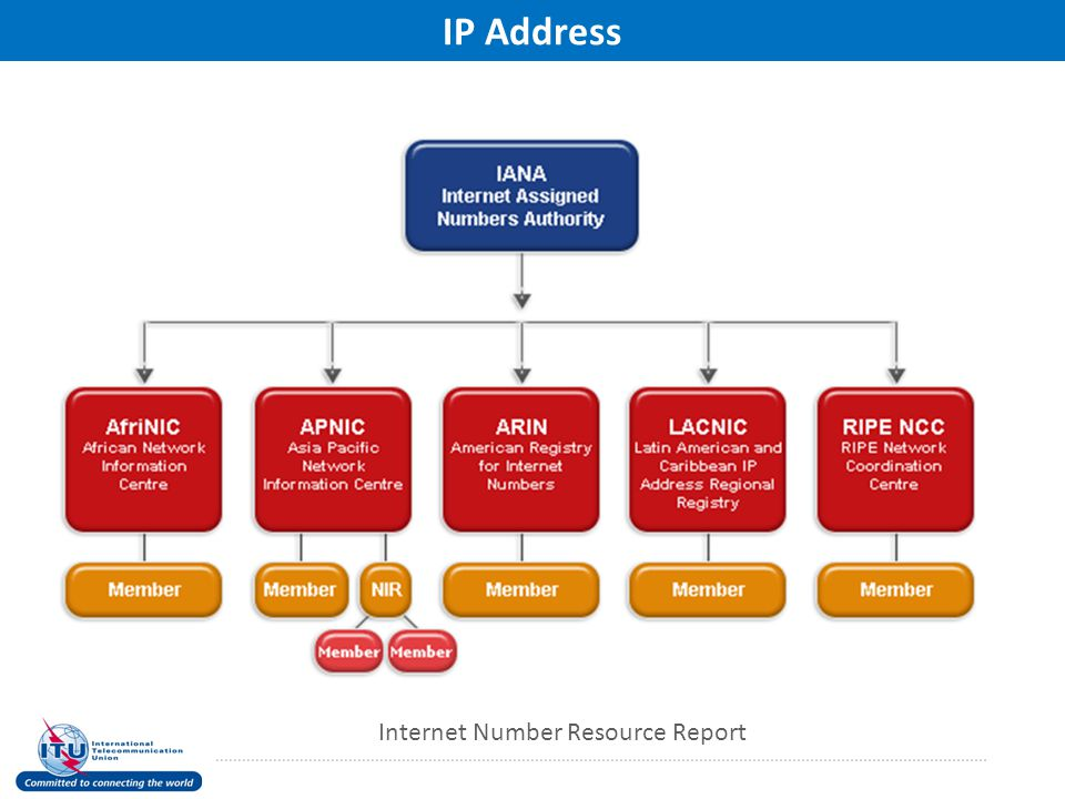 IP Address Internet Number Resource Report
