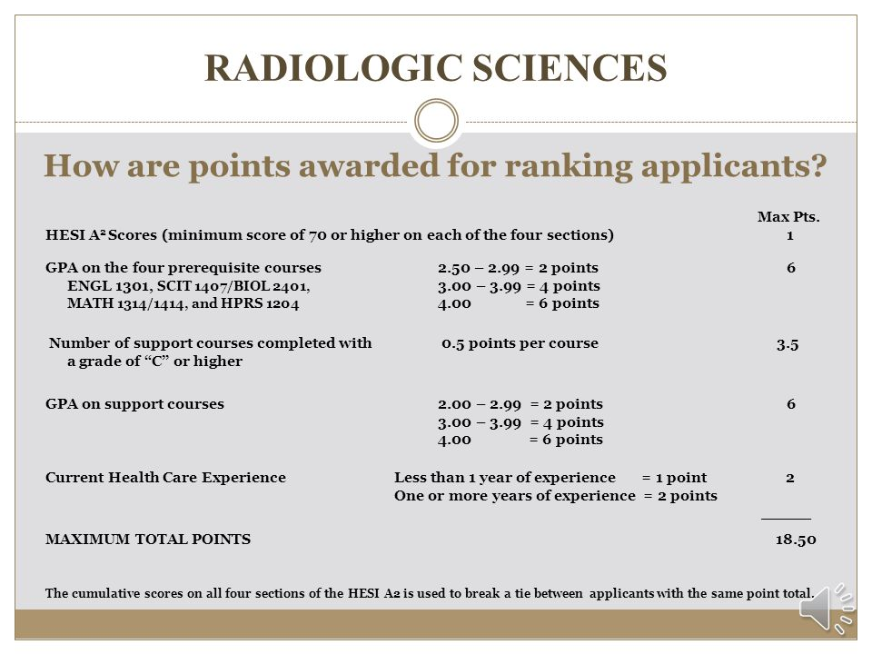 RADIOLOGIC SCIENCES Where do I submit my application packet.