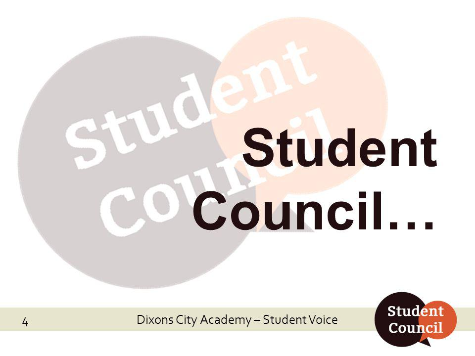 Dixons City Academy – Student Voice Department & Policy Reviews… Dixons City Academy – Student Voice 5