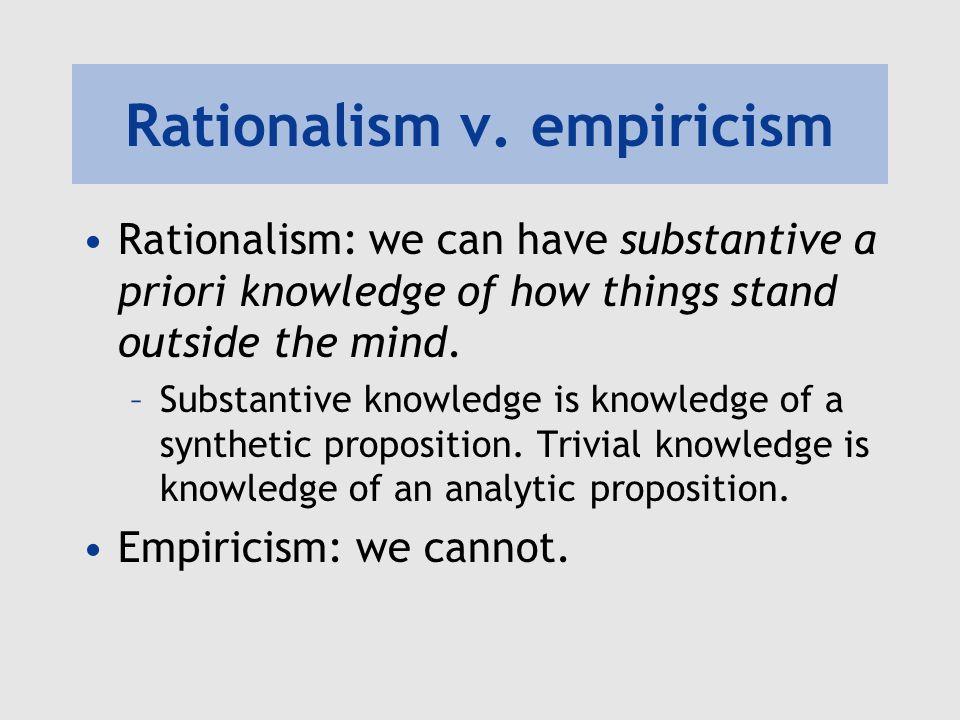 Rationalism v.