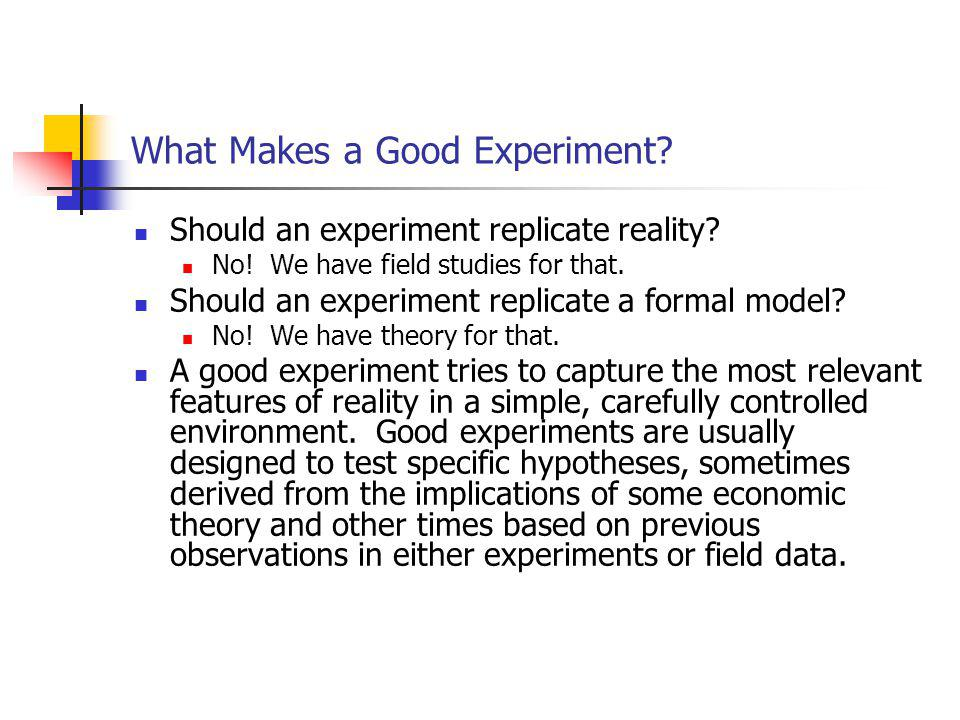 What is a Controlled Experiment.