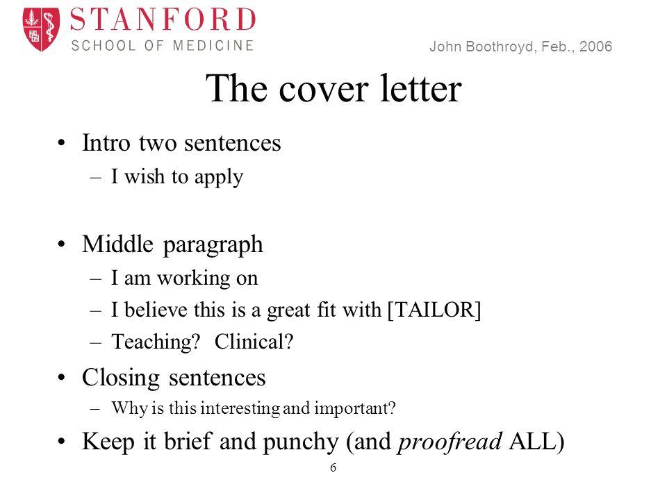 John Boothroyd, Feb., 2006 37 Teaching [and clinical] How much.