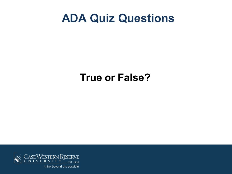 ADA Accommodation Process What does the ADA require for determining reasonable accommodations.