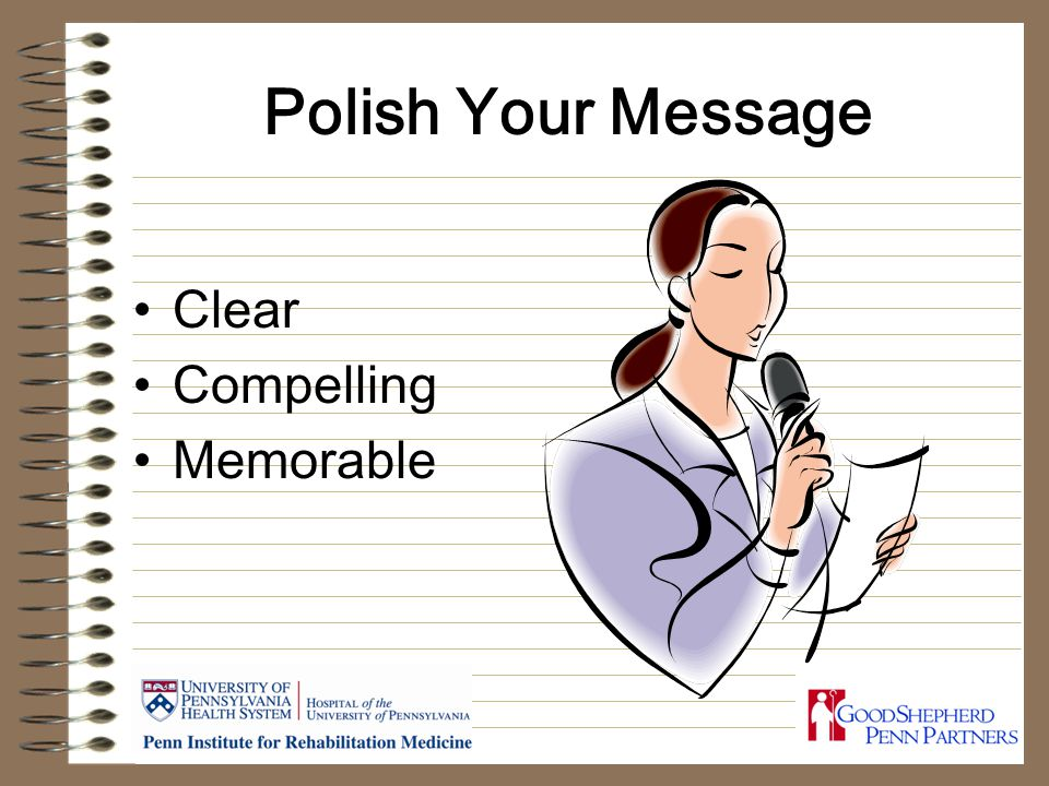 Polish Your Message Clear Compelling Memorable