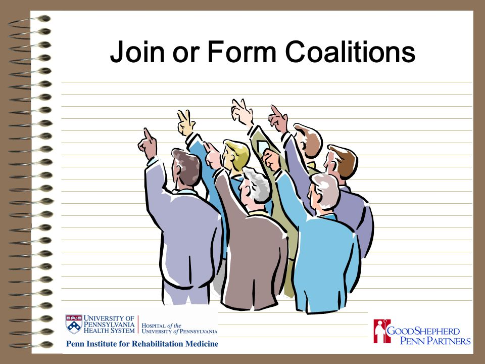 Join or Form Coalitions