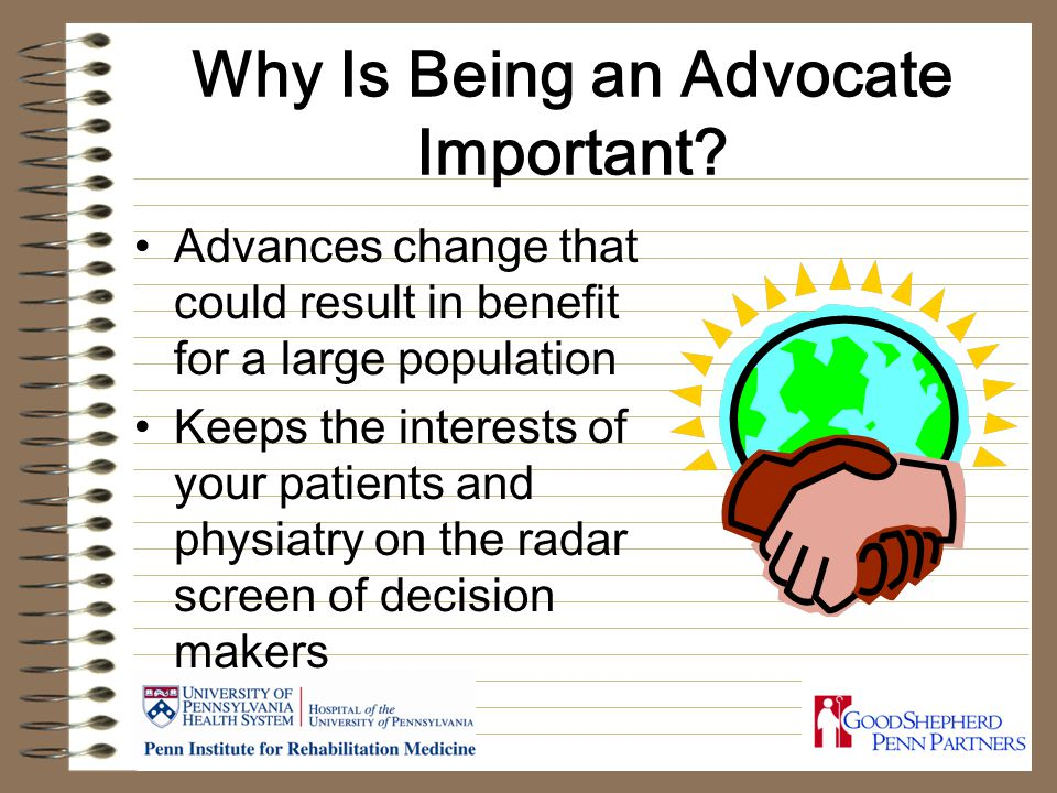 Why Is Being an Advocate Important.