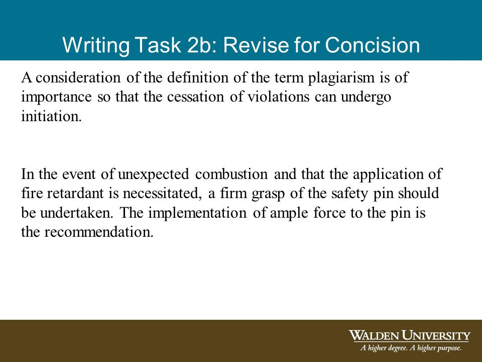 A consideration of the definition of the term plagiarism is of importance so that the cessation of violations can undergo initiation.