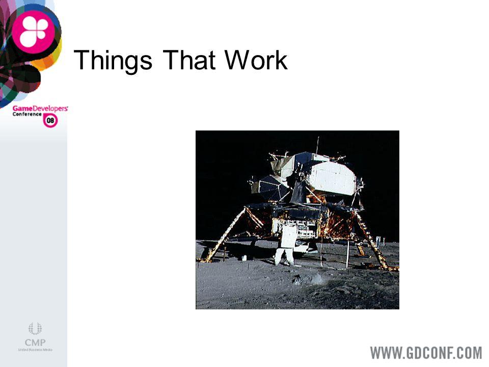 Things That Work