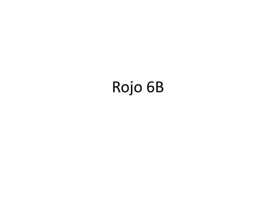 Rojo 6B