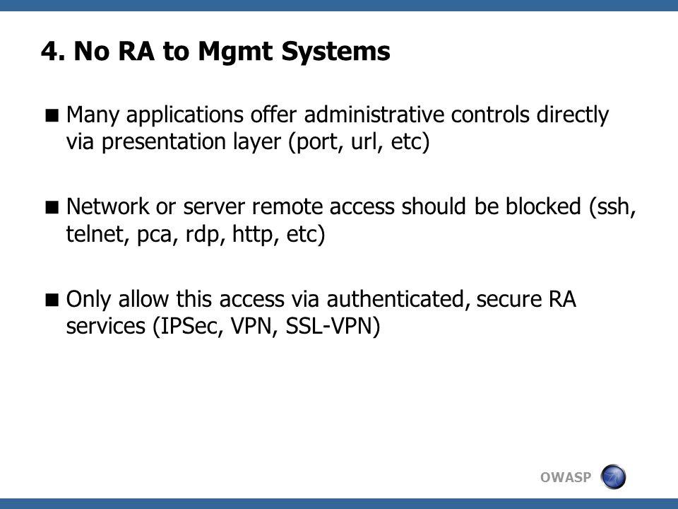 OWASP 4.
