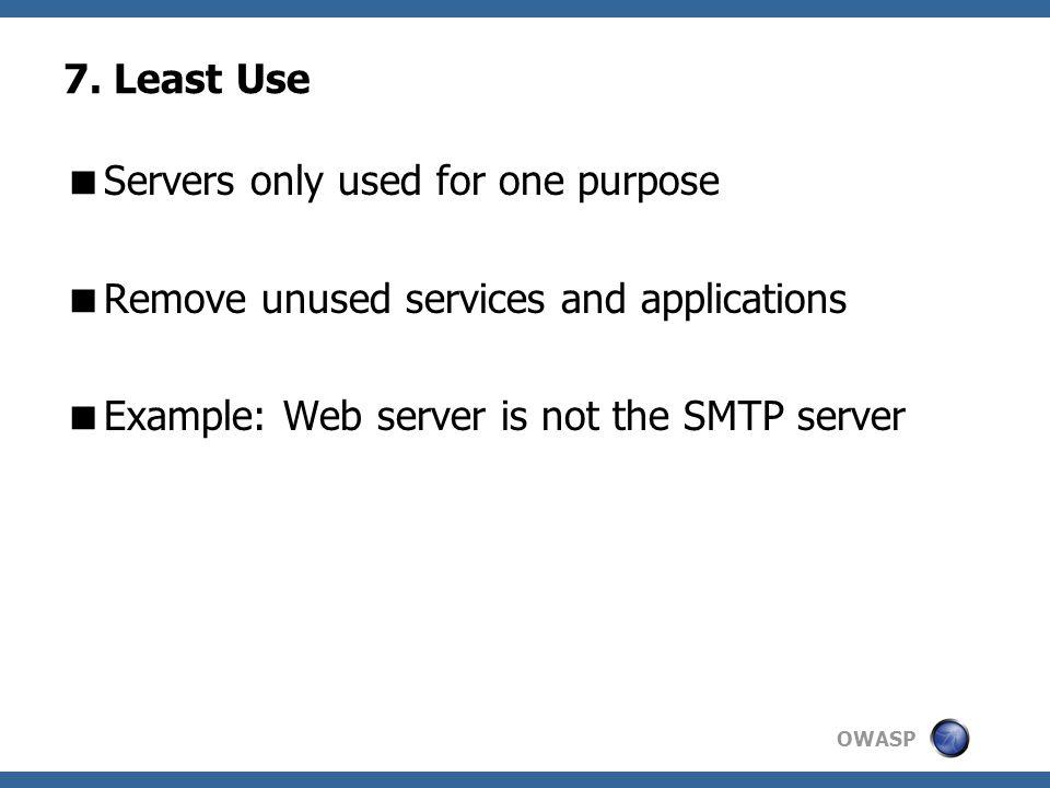 OWASP 7.