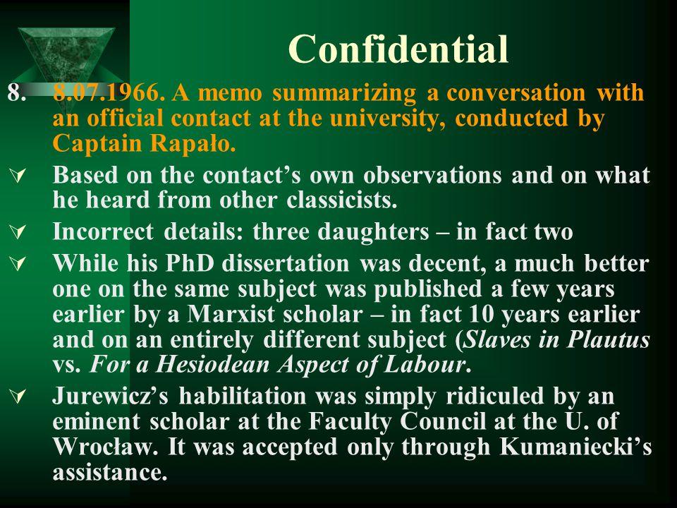 Confidential 8.8.07.1966.