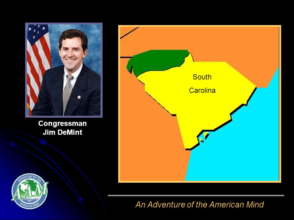 An Adventure of the American Mind South Carolina Congressman Jim DeMint