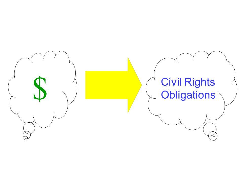 $ Civil Rights Obligations
