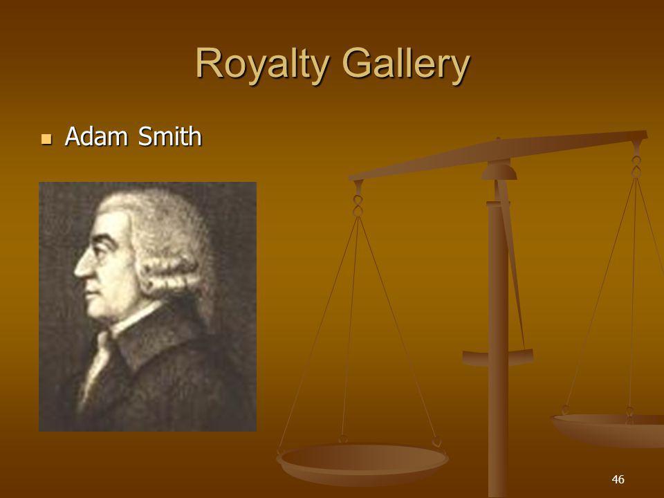 46 Royalty Gallery Adam Smith Adam Smith