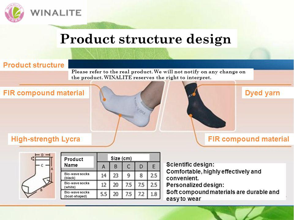 Scientific design: Comfortable, highly effectively and convenient.