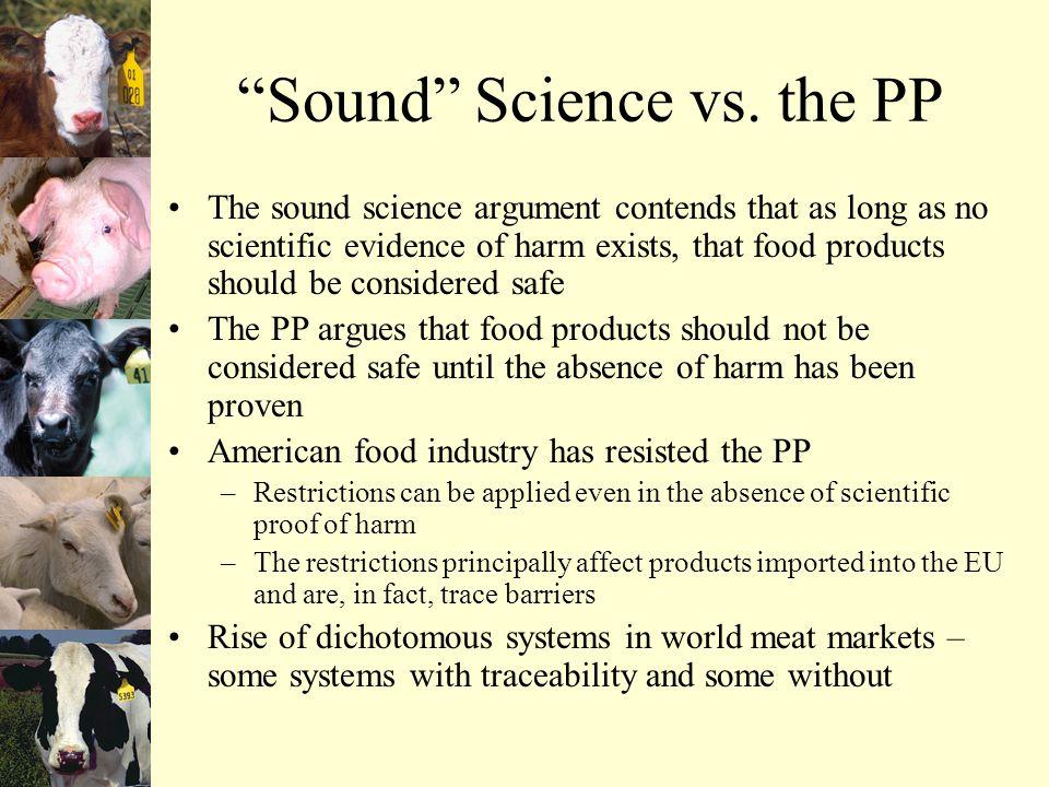 Sound Science vs.