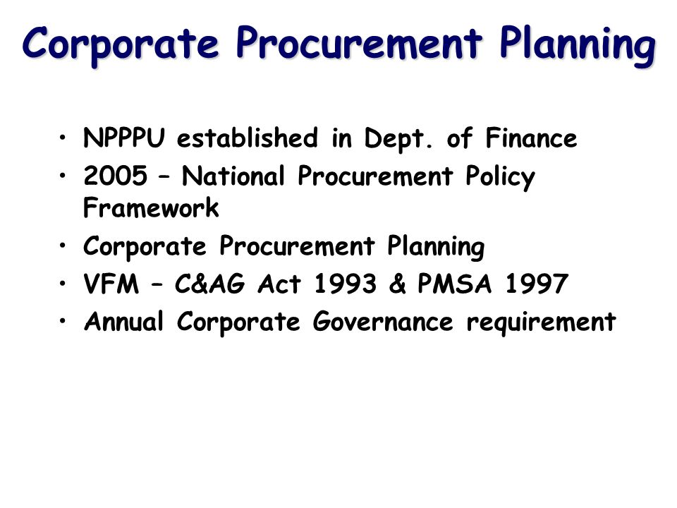 ICT and eProcurement Does the ICT system support the procurement activity.