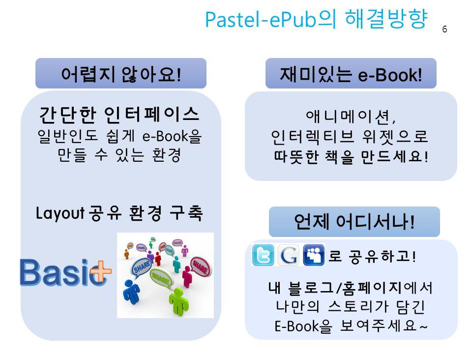 Pastel-ePub 의 해결방향 6 애니메이션, 인터렉티브 위젯으로 따뜻한 책을 만드세요.