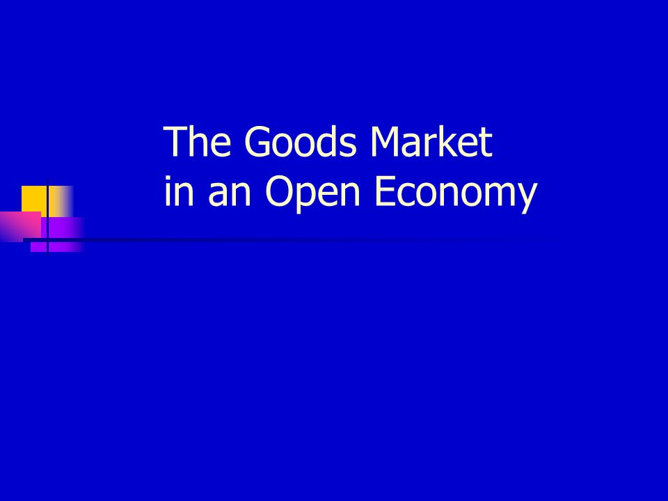 The IS Relation - Open Economy The Demand for Domestic Goods In an open economy, the demand for domestic goods is given by: