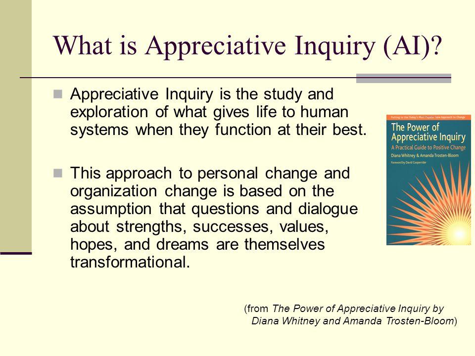 What is Appreciative Inquiry (AI).