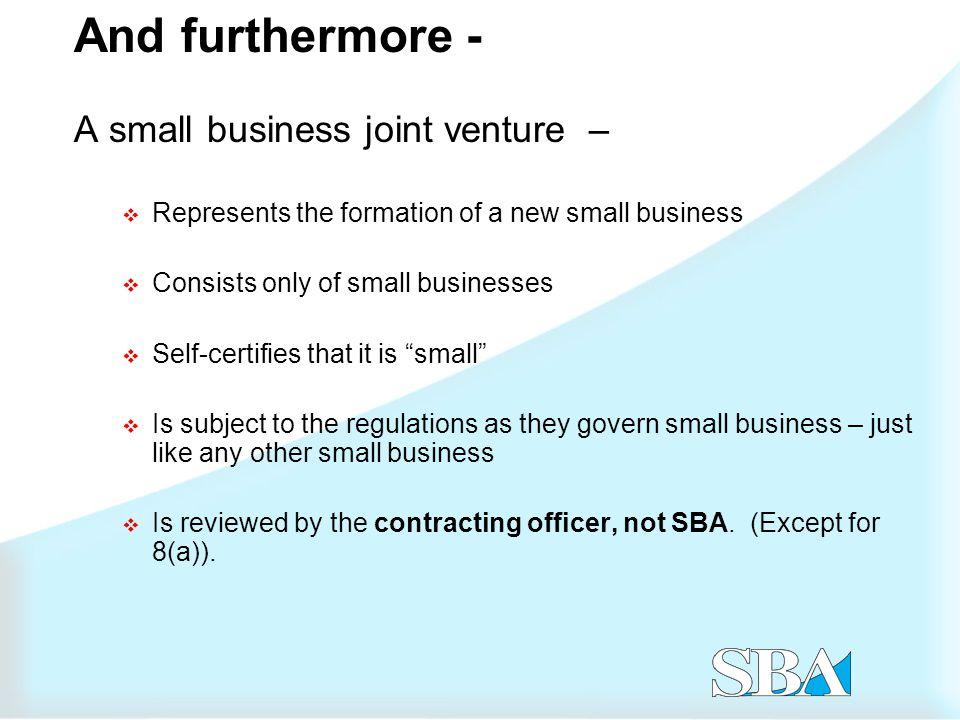 Joint ventures vs.