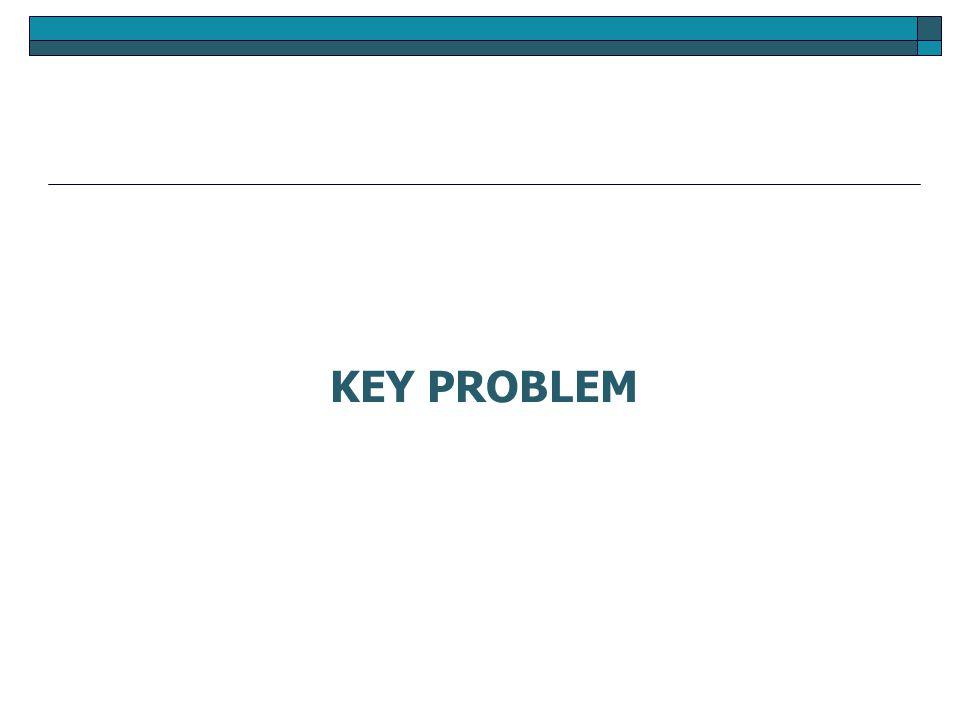 KEY PROBLEM
