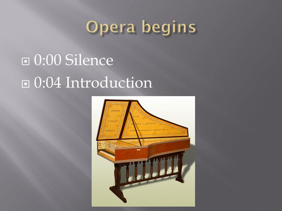  0:00 Silence  0:04 Introduction