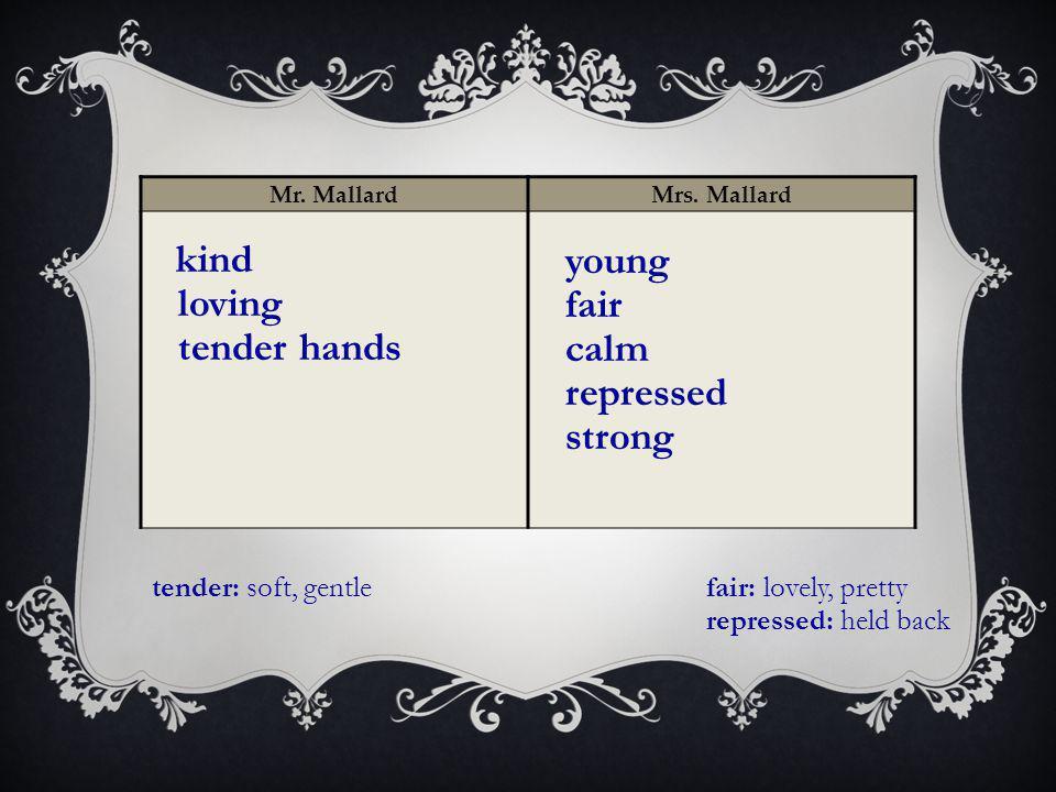 Mr. MallardMrs.