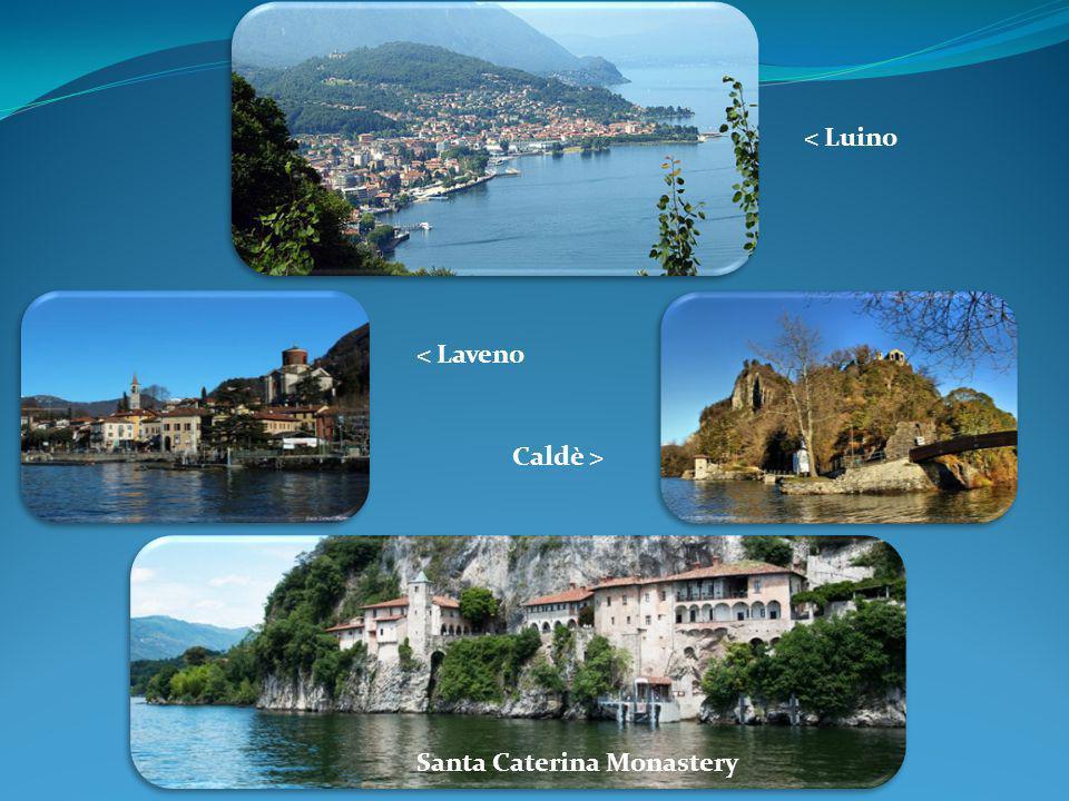 < Luino < Laveno Caldè > Santa Caterina Monastery