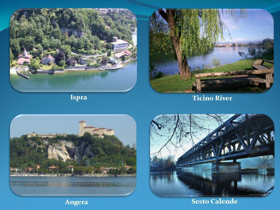 Ispra Ticino River Angera Sesto Calende