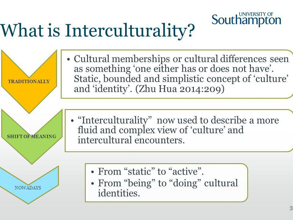 4 Culturally different = socially constructed phenomenon > simultaneously belong to different categories, not all equally relevant at a given point (Zhu Hua 2014:209) 'culture' as a verb – an active process of meaning making (Street 1993:25) 'new complexities of diversity' (Vertovec 2010:86) A more comprehensive approach